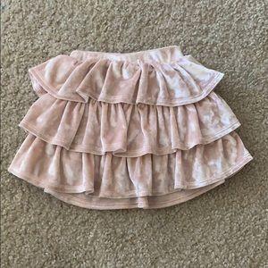 Epic Threads Pink Velvet Skirt  | 2T